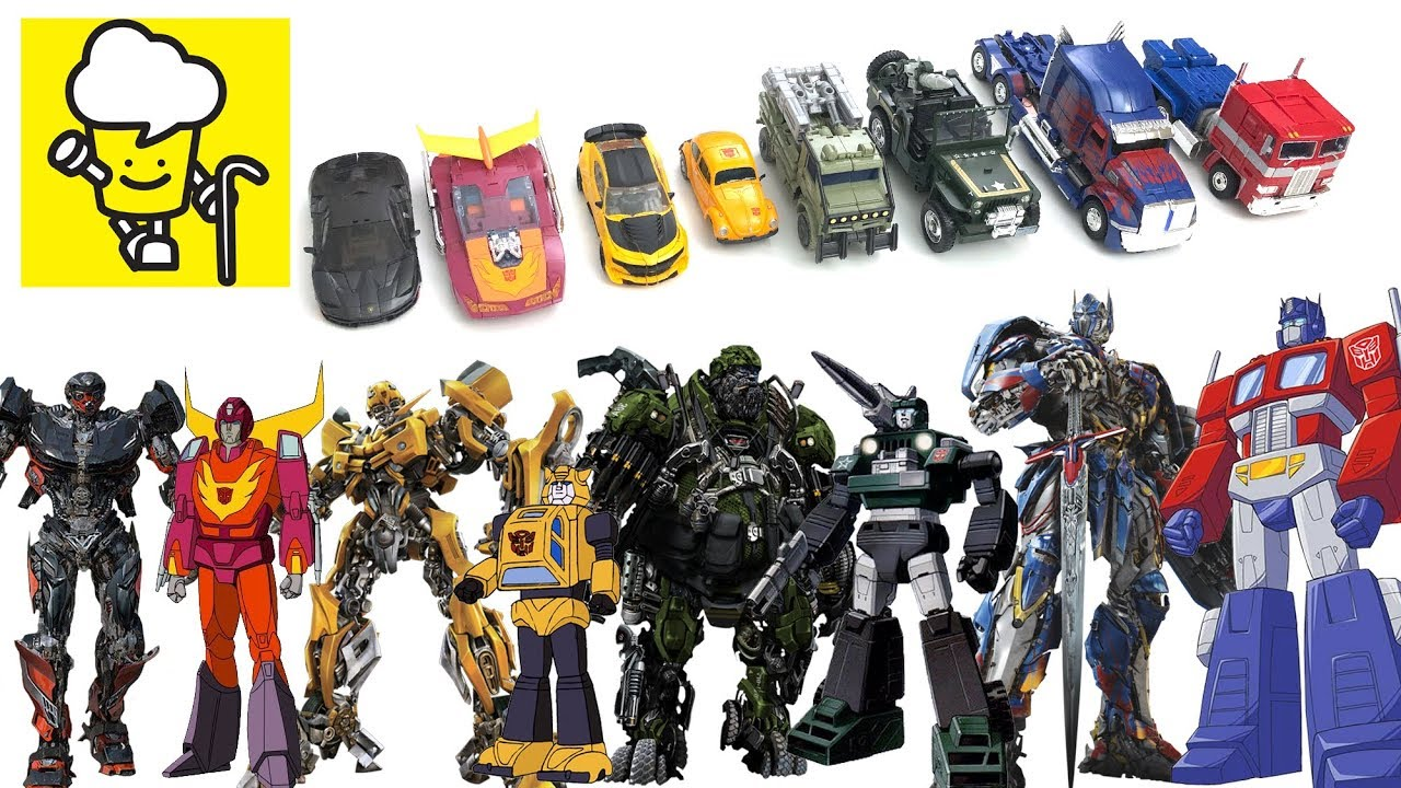 Transformers Movie 5 The Last Knight And G1 Toys With Optimus Prime Bumblebee Hot Rod