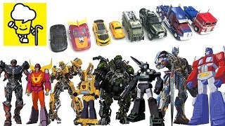Transformers Movie 5 The Last Knight and G1 Toys with Optimus Prime Bumblebee Hot Rod トランスフォーマー 變形金剛