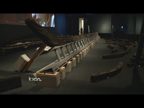 Historic LaBelle shipwreck ready for Bullock Museum