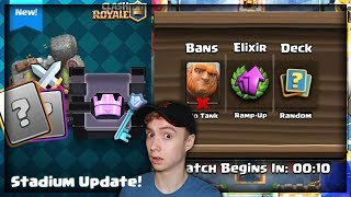STADIUM MODE?? NEW Concept Gamemode For Clash Royale!