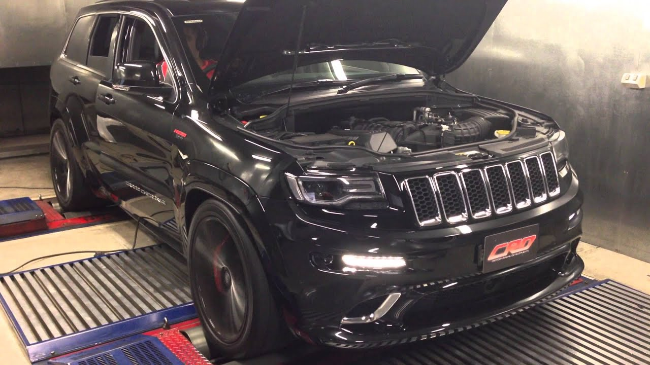crd custom tuned 2014 srt jeep grand cherokee 6.4lt hemi v8 - youtube
