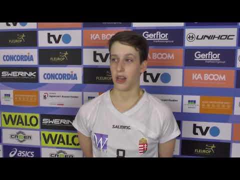 "Women's U19 WFC 2018 - ""We played a lot better today"" Orsolya Szilvia Stipsicz"