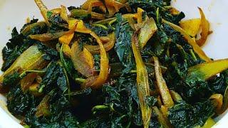 सिर्फ 5 मिनट में बनाइए चौलाई का पौष्टिक साग / माठ सब्जी /Chaulai Ki Sabji /Amaranth Leaves Stir Fry
