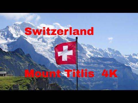Switzerland, Mount Titlis 4K Video