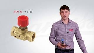 автоматический балансировочный клапан Danfoss серии APT. Обзор, технические характеристики