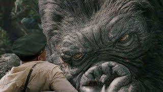 """Кинг-Конг против команды корабля - """"Кинг-Конг"""" отрывок из фильма"""