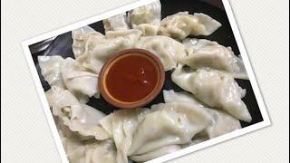 Easy Chicken Dumplings | Potstickers | Quick Chicken Gyoza Recipe | Chicken Potstickers | Tasty Momo
