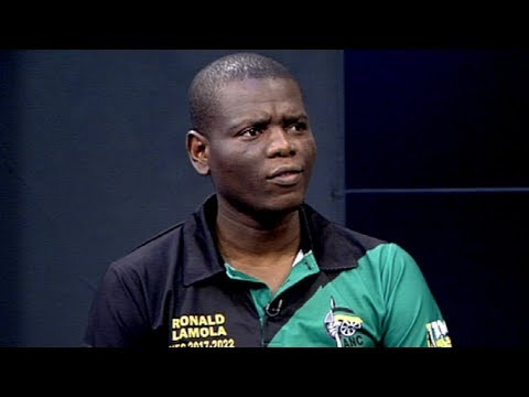 POLITICAL VIEW with ANC NEC member Ronald Lamola - PT2