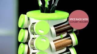 Trueware Spice Rack 16IN1