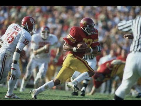 Classical Tailback - Marcus Allen USC Highlights