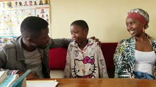 Bobi Wine and Barbie Surprise their Daughter Shalom at School