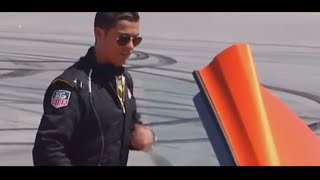 Cristiano Ronaldo Shooting Balls on the track with Jenson Button ● Mclaren GT Test Drive..
