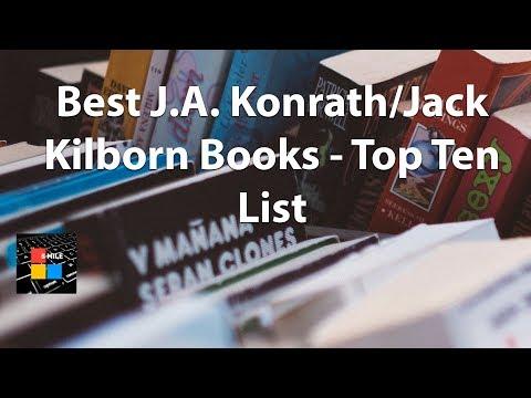 Best J.A. Konrath/Jack Kilborn Books - Top Ten List