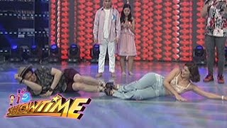 """It's Showtime: Vhong, Anne and Billy try to dance in """"Dancing in Tandem"""""""