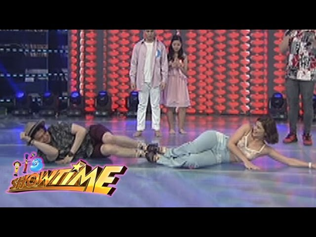 "It's Showtime: Vhong, Anne and Billy try to dance in ""Dancing in Tandem"""