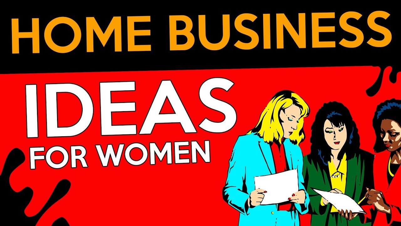 Profitable Home Business Ideas for Women ▻ Low Investment - YouTube