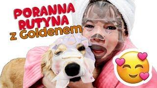 Poranna Rutyna z Psem Golden Retirever Puppy LOVE
