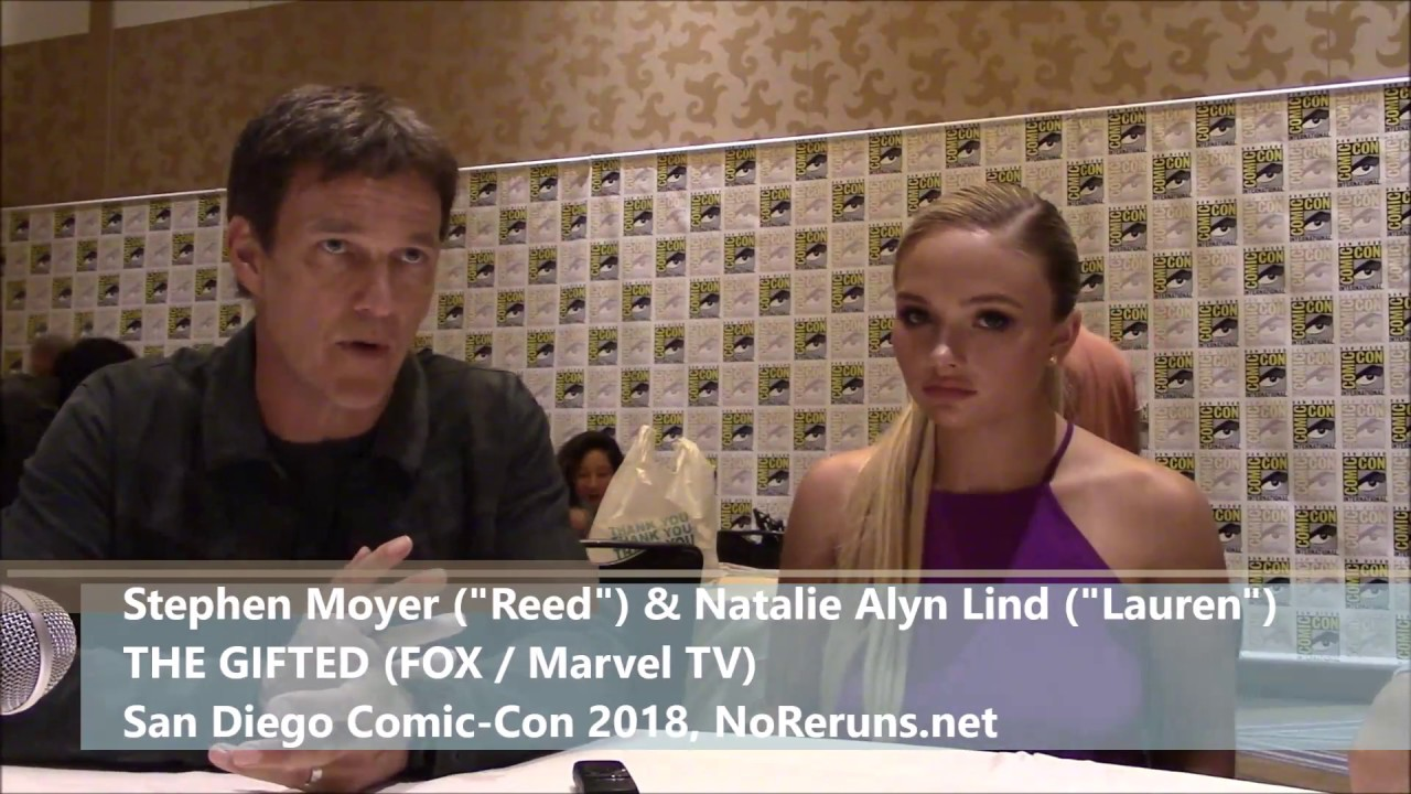 Download The Gifted Q&A with Stephen Moyer & Natalie Alyn Lind (SDCC 2018)