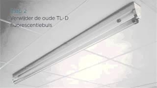 Installatie-instructies voor de Philips MASTER LEDtube (EM)