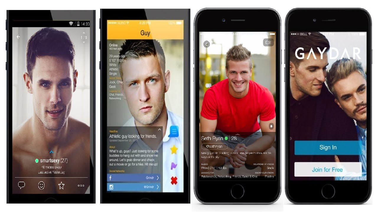 It is not as exclusively a gay- dating app as