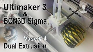 Ultimaker 3 & BCN3D Sigma Dual Extrusion Vase # 4