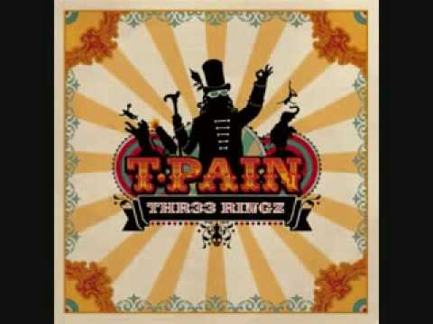 T Pain - Silver & Gold - Three Ringz New 2008 HQ