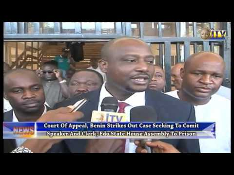 Court Of Appeal, Benin Strikes Out Case Seeking To Commit EDHA Speaker And Clerk To Prison
