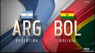 Highligts moment of Argentina vs Bolivia and Chili vs Panama