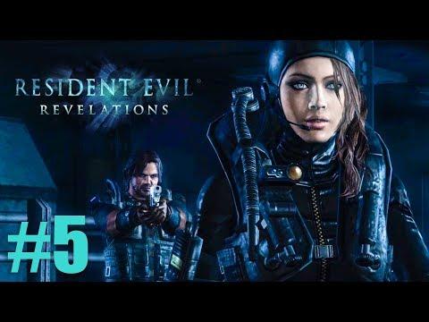 ТОЛЬКО НЕ ДЖЕССИКА! ► Resident Evil: Revelations Прохождение #5 ► ХОРРОР ИГРА