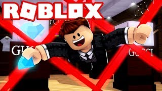 I WENT INSIDE A DIAMOND JEWELRY STORE IN ROBLOX!!