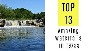 Amazing Waterfalls in Texas. TOP 13