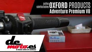 Puño calefactable OXFORD Adventure V8 en Honda Deauville / de-moto