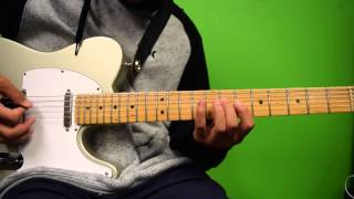 """COS Lead Guitar Tutorial For """"Pursue"""" By Hillsong Young & Free"""