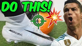 How To Shoot CR7 Freekicks Like Ronaldo! With Knuckleball Battle