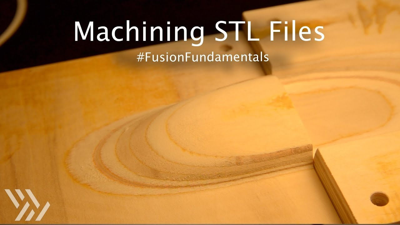 Machining an STL in Fusion 360 - Project #114 [CNC]