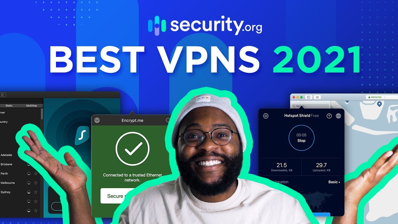 Best Vpn Service Of 2021 The Top Virtual Private Networks