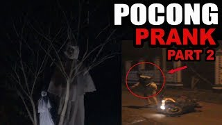 PRANK GHOST(POCONG PRANK INDONESIA) Part 2