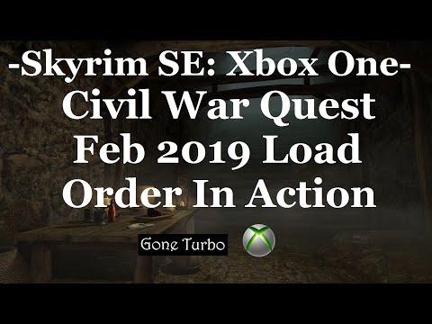 Skyrim SE- Feb 2019 LO in Action- Civil War