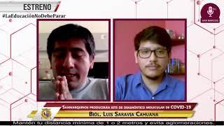 Tema: Sanmarquinos producirán kits de diagnóstico molecular Covid-19