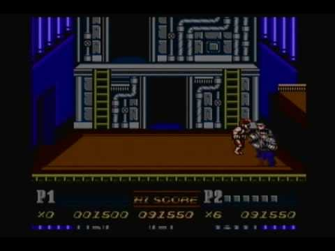 Double Dragon II (NES) Playthrough (Jimmy Lee)