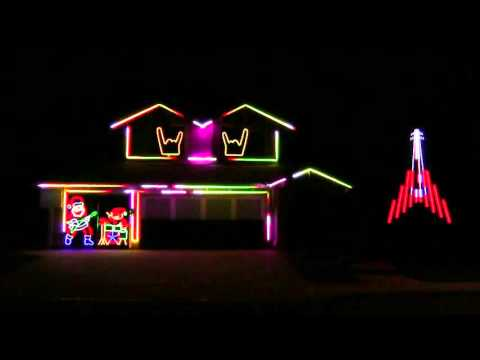 DISTURBED CHRISTMAS LIGHTS 2015