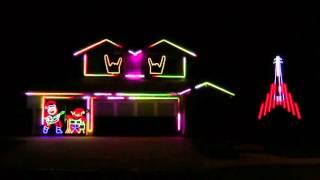 DISTURBED CHRISTMAS LIGHTS 2015