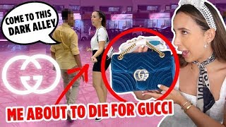 BUYING FAKE GUCCI IN DUBAI 🇦🇪 THE MOST EXPENSIVE FAKES - I FILMED EVERYTHING!! | Mar
