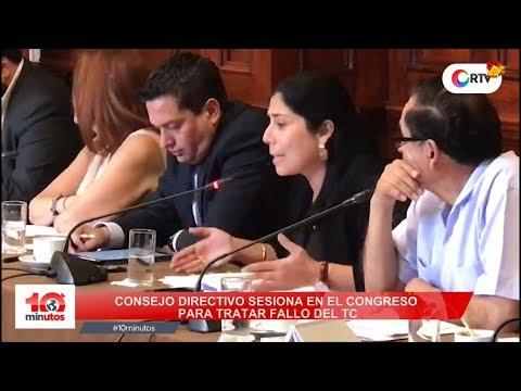 Peleas durante Consejo Directivo en el Congreso - 10 minutos Edición Tarde