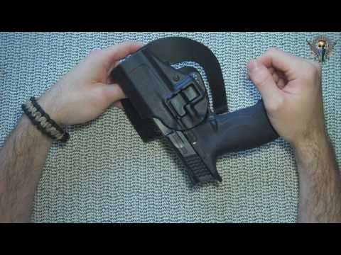 Blackhawk Serpa CQC level 2 holster for S&W M&P9 Pistol Review - YouTube
