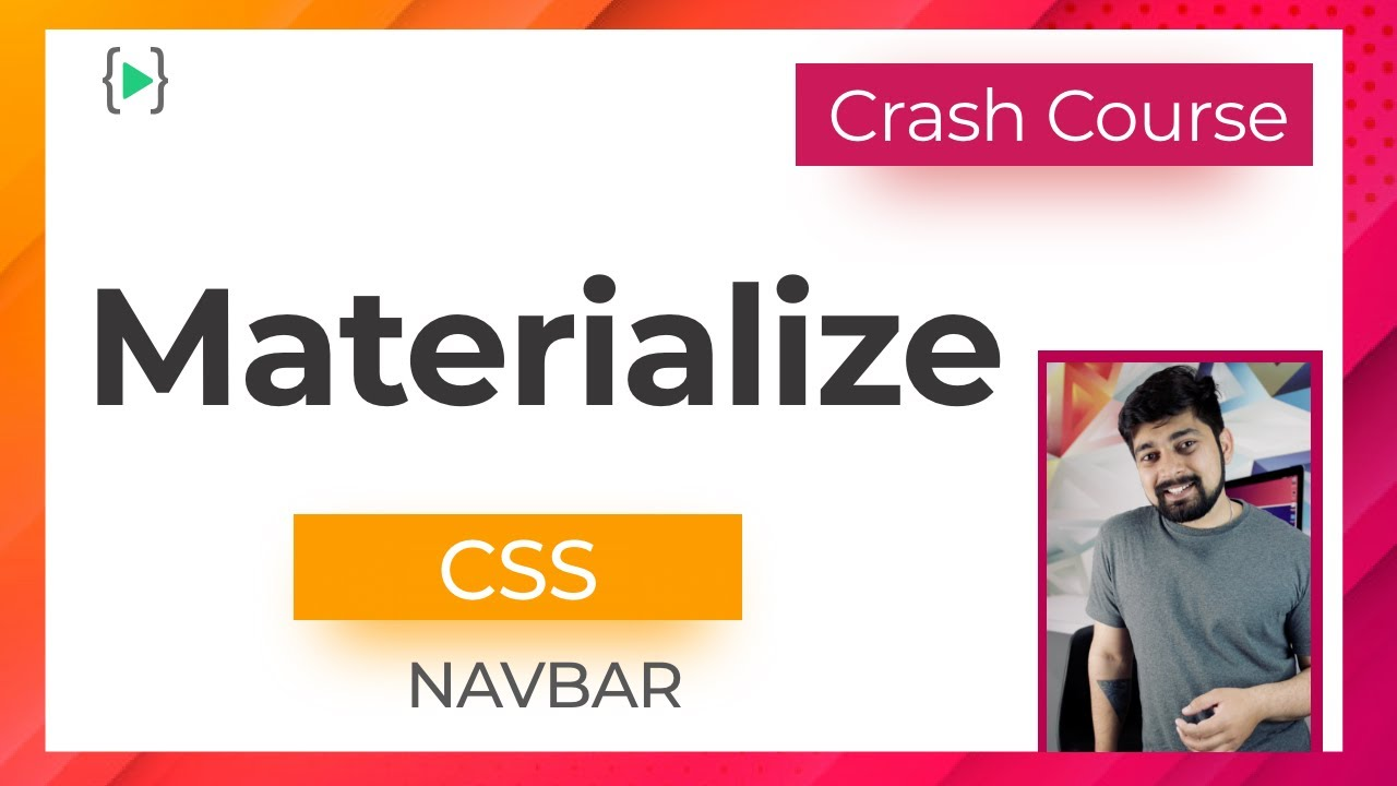Adding Mobile Friendly Navbar in materialize CSS