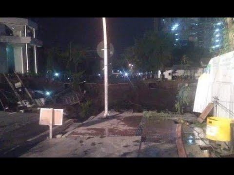 BMKG: Fenomena Jalan Raya Gubeng Ambles Bukan Karena Gempa