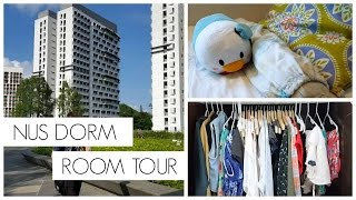 NUS Dorm Room Tour!