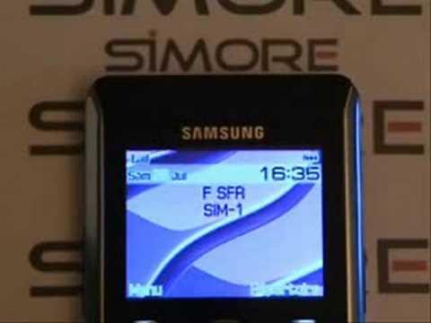 Samsung SGH P310 - Dual SIM Card Adapter Simore for Samsung SGH P310