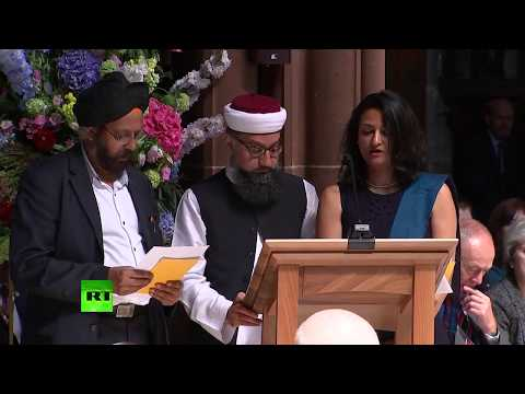 LIVE: Memorial service on the 1 year anniversary of the Manchester Arena attack